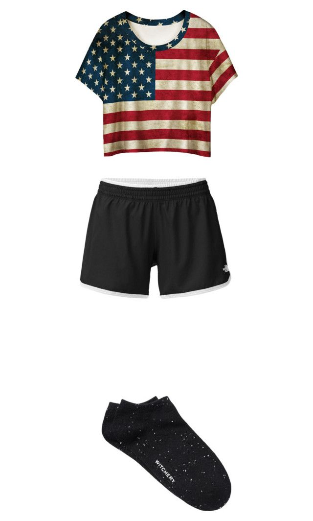 """""""Geen titel #83"""" by charlotteveenman on Polyvore featuring mode, The North Face, WithChic en Witchery"""
