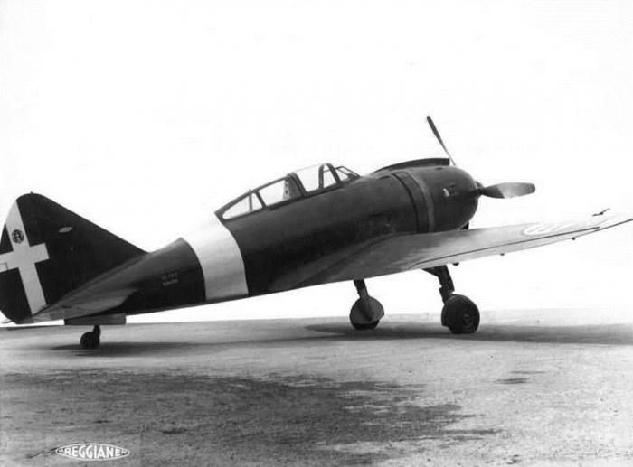 Reggiane RE.2002 Ariete prototipo (MM.454)