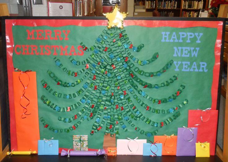 Christmas Bulletin Board Ideas | christmas_bulletin_board.jpg - Christmas Tree Bulletin Board