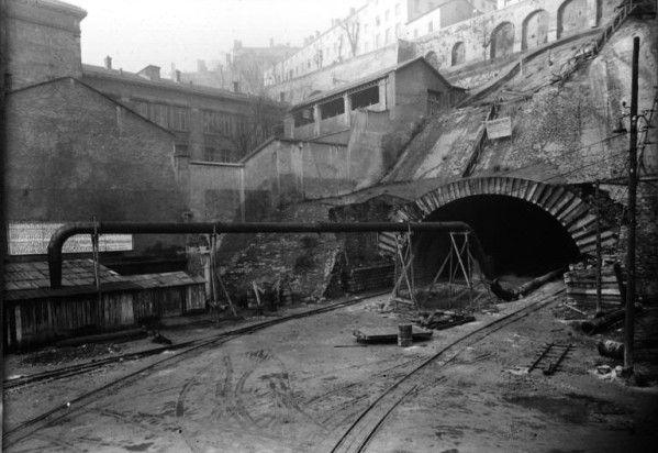 tunnel de la croix-rousse | Naissance du Tunnel de la Croix-Rousse, pour atteindre l'autre rive ...