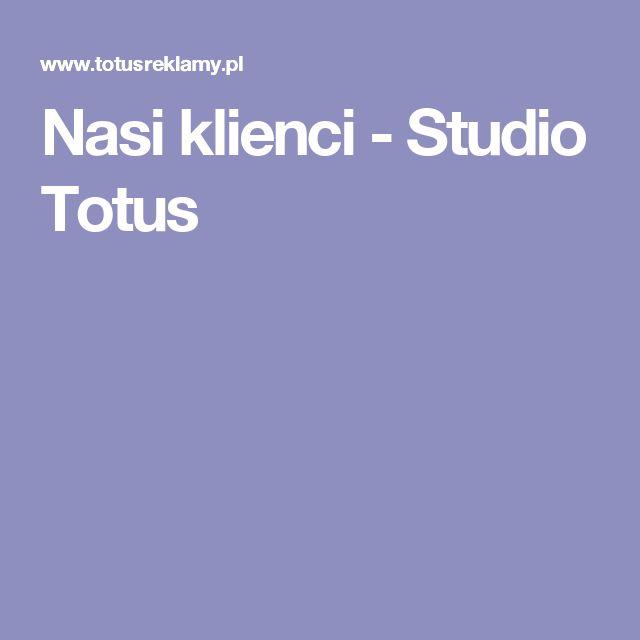 Nasi klienci - Studio Totus