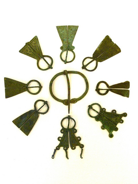 viking brooches by Chris Draper, via Flickr