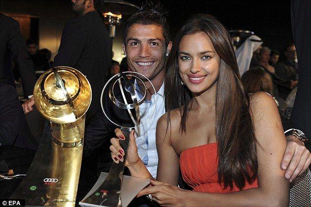 Cristiano Ronaldo has revealed girlfriend Irina Shayk has an obsession with his CR7 boxers.