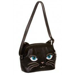 Sac à Main Gothique Lolita Simili Cuir Chat Kitty