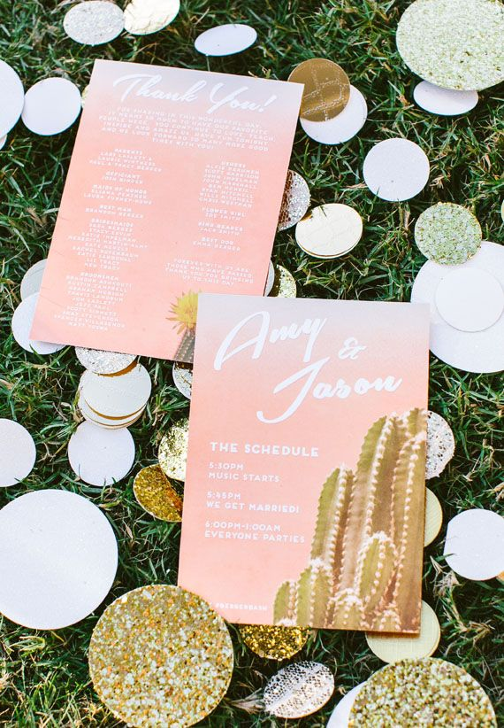 Ace Hotel Palm Springs wedding   Photo by Jennifer Emerling Photographer   Read more - http://www.100layercake.com/blog/?p=70579