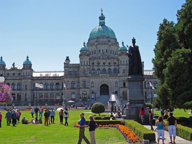 Capitale de la Colombie-Britannique Parliament Building  Victoria Canada
