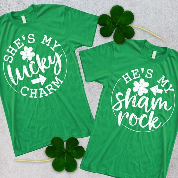 Today Is Your Lucky Day Pot Of Gold Shamrock Irish Clover Rainbow Men/'s Thermal