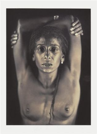 Untitled (Renee) by Chuck Close on artnet Auctions