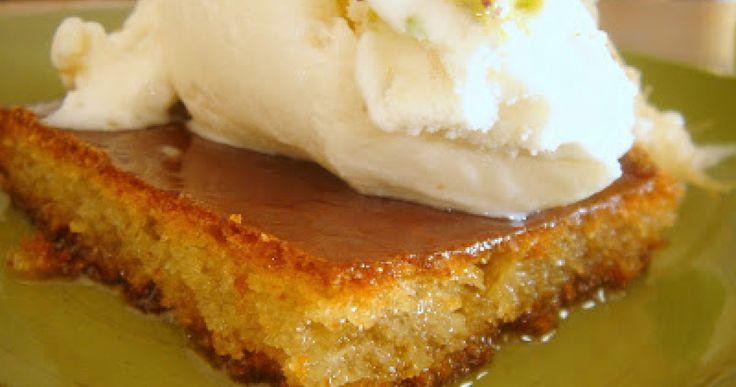 Εκμέκ με παγωτό καϊμάκι
