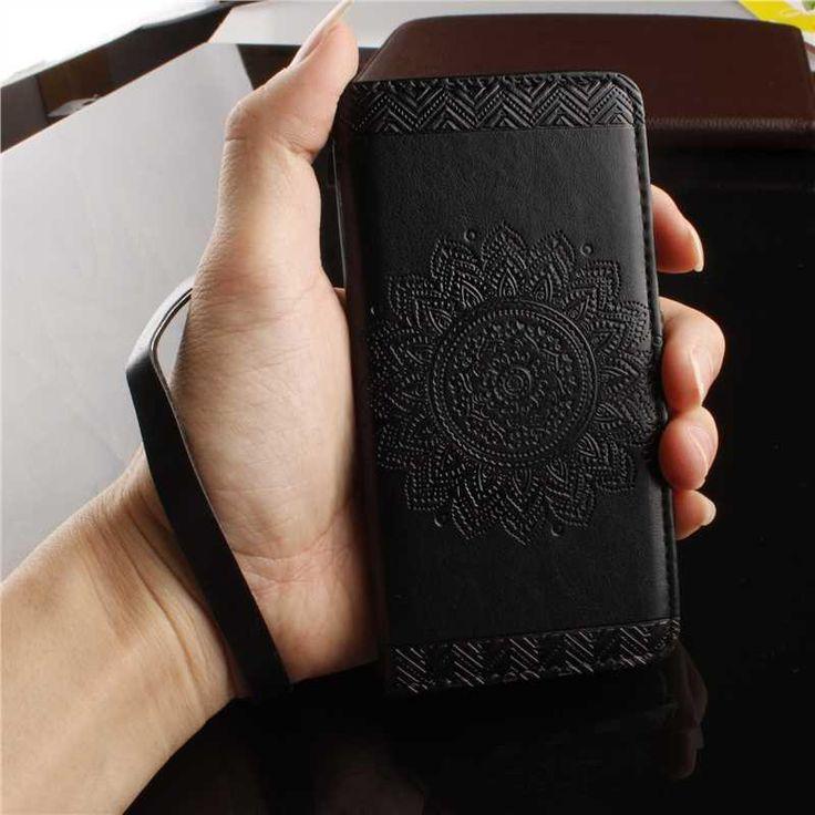 Mikoor Мода Цветочным Узором PU Кожаный 4.7For iPhone 7 Чехол Для iPhone 7 Сотового Телефона Чехол купить на AliExpress