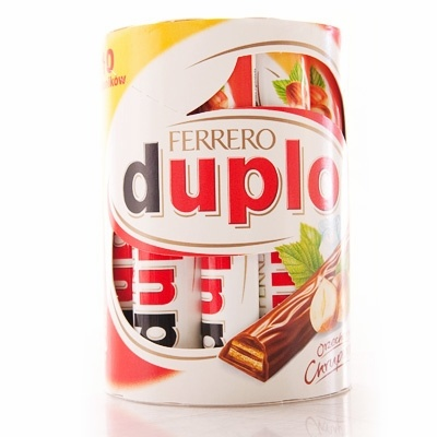 Ferrero  Duplo, 10-Pack (Chocolate-coated Cookies)