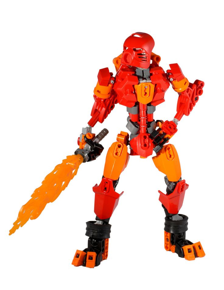 bionicle how to build a gun