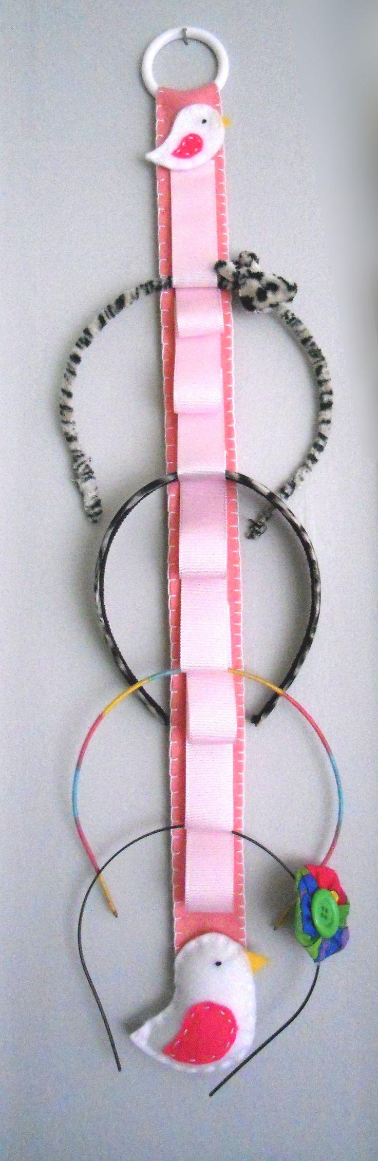 Organizador de tiaras / Hair bow holder