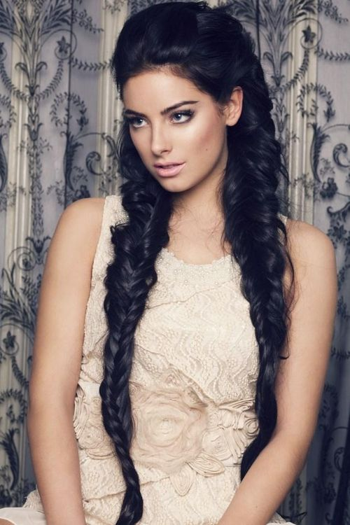 Beautiful Long Dark Hair Would Love To Have This And Thick In 2018 Pinterest Styles Braids
