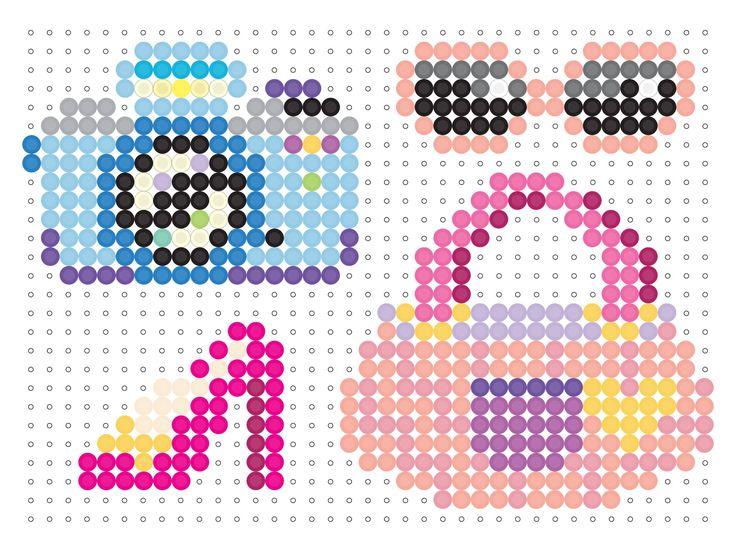 perler beads plantillas - Buscar con Google