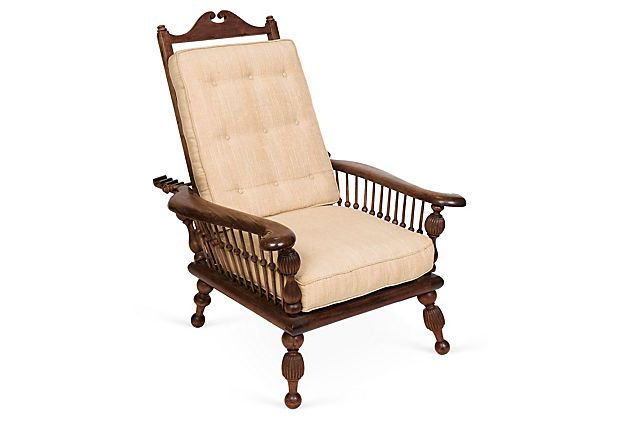 Victorian Recliner Chair on OneKingsLane.com Right next to Morris Chair. Awesomeness to the 2nd P