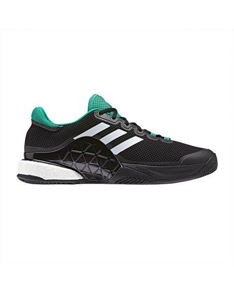 Zapatillas adidas barricade 17 negro verde