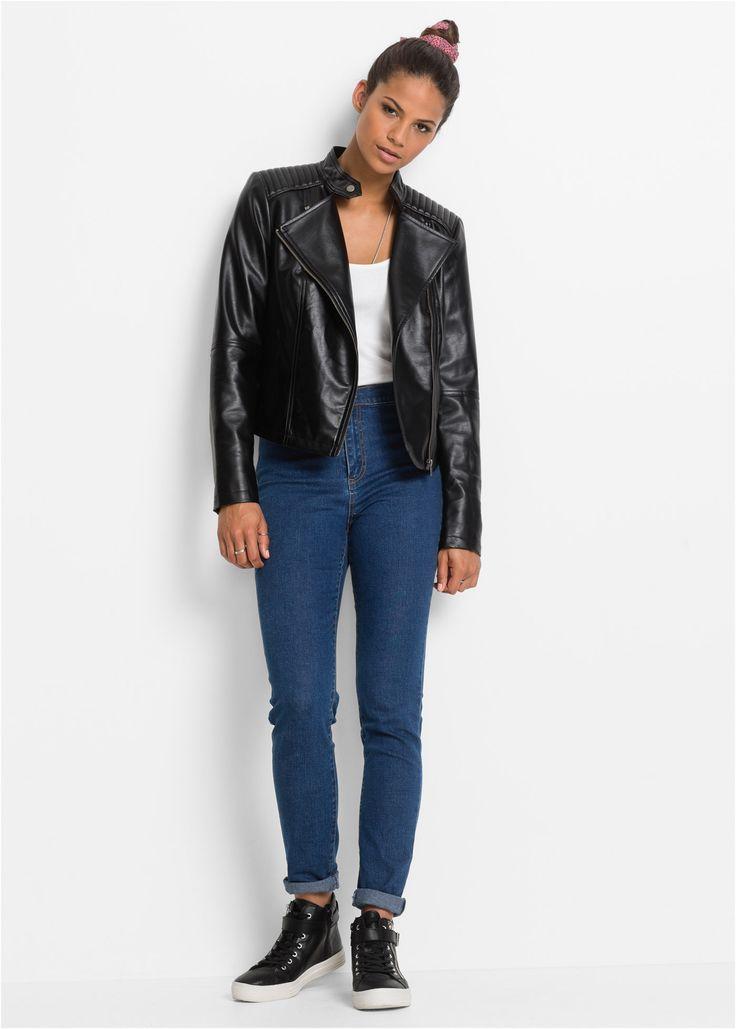 MUST HAVE: High Waist Super Skinny dark denim - RAINBOW jetzt im Online Shop von bonprix.de ab ? 19,99 bestellen. Jeans mit hoher Taille und Rückenpasse. ...