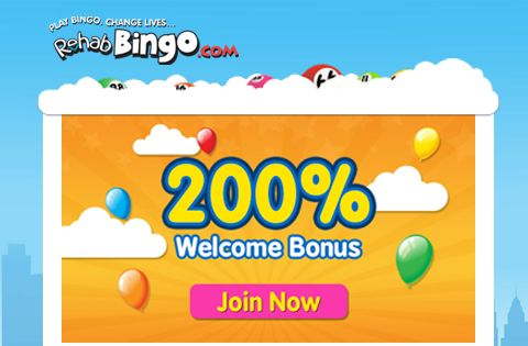Rehab Bingo, United Kingdom: Come along and tuck into the #delicious bingo offer that Rehab Bingo is running this month. Stake on the #mini games bang in the middle of the day and walk away with your share of the prizes. You don't need to take time off for this promotion. All you simply need to do is to log onto this #online bingo site and wager on the games while you're having your lunch.