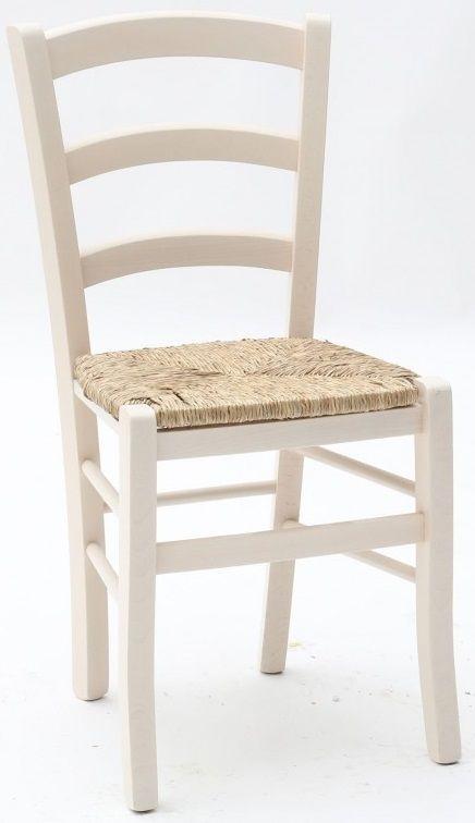 Sedie in legno per ristorante pub pizzeria con seduta paglia color ...