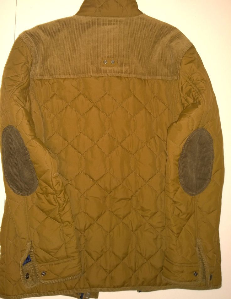 http://www.ebay.co.uk/itm/Next-Authentic-Quilted-Tan-Brown-Stand-Up-Collar-Elbows-Patches-Jacket-Size-L-/272372196438?