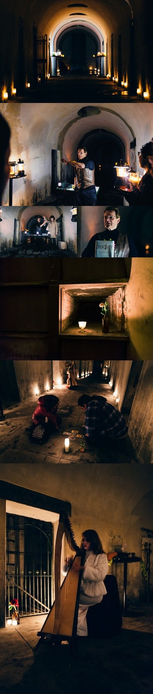 Society Adventures A Clandestine Catacombs Affair with Phillippe Petit