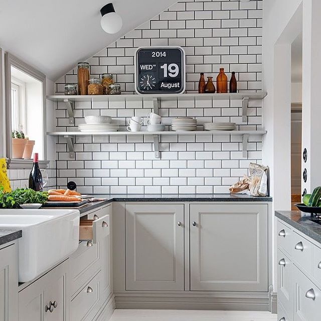 M s de 1000 ideas sobre azulejos de metro en pinterest - Tipos de azulejos para cocina ...