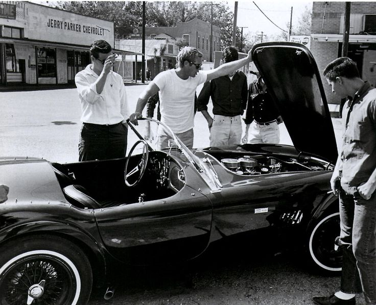 Steve McQueen, Shelby Cobra