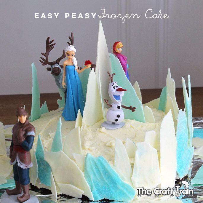 Easy Peasy Frozen Cake