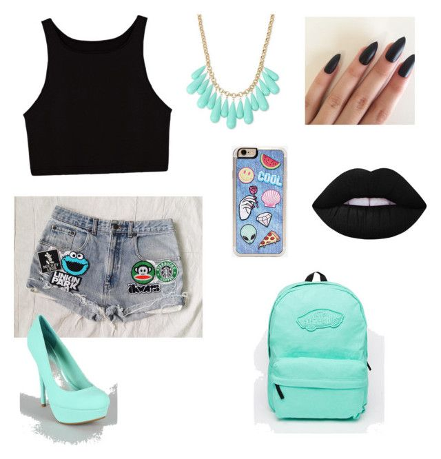 """""""Mint"""" by martyna-janas on Polyvore featuring moda, INC International Concepts, Vans, Zero Gravity i Lime Crime"""