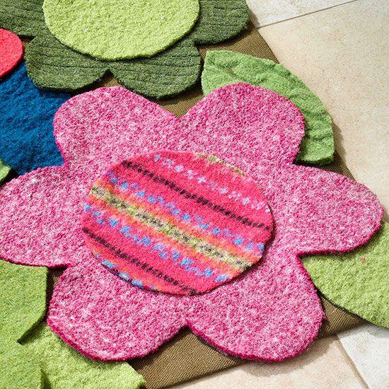 Wool Sweater Rug