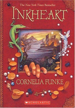Inkheart by Cornelia Funke. This is one of my all time faves. Perfect for any real book lover!