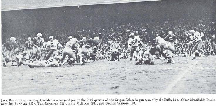 1955 colorado oregon football game at hayward field