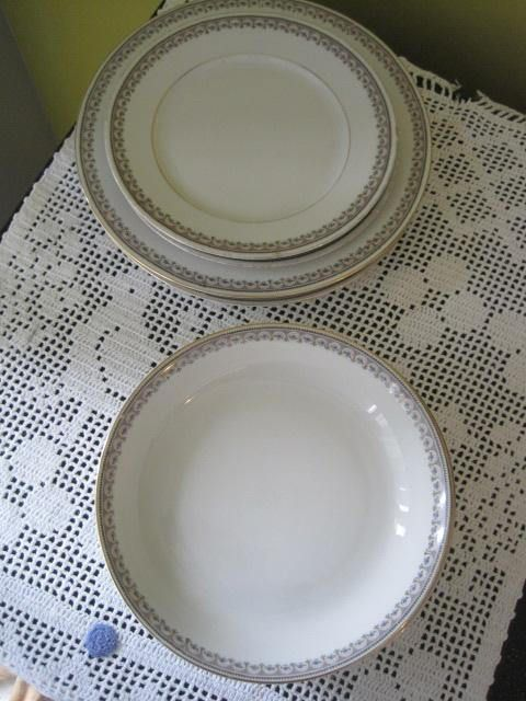 Vintage Vaisselle de remplacement KPM Germany The Emdem/