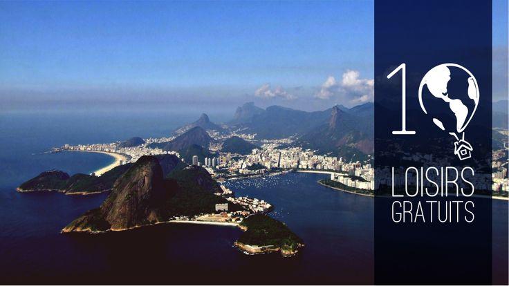 10 loisirs gratuits et sympas à faire Rio de Janeiro #rio #brésil