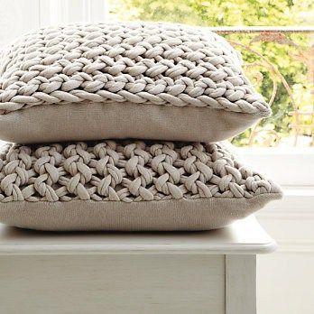 T-shirt yarn cushions (inspiring) Choosing the perfect cushion - http://www.kangabulletin.com/online-shopping-in-australia/cushion-id-australia-choosing-the-perfect-cushion-has-never-been-easier/ #cushionid #australia #sale french cushions, round outdoor cushions or foam for cushions                                                                                                                                                      More