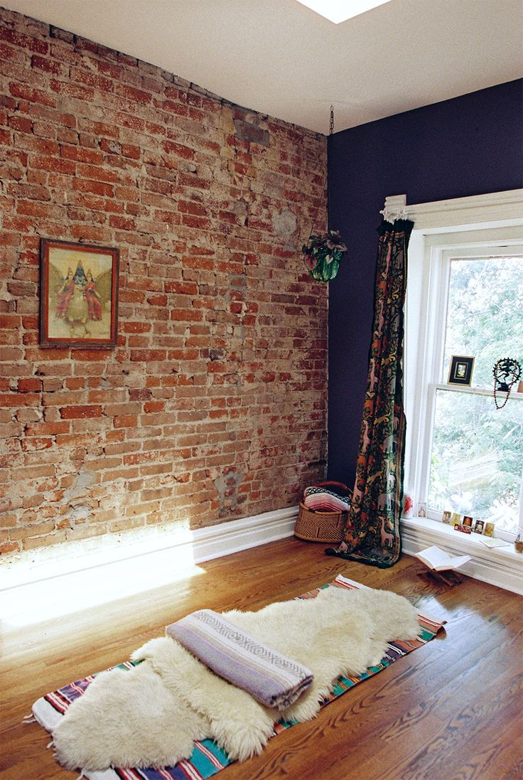 A Victorian Home With Countless Treasures in Denver, CO | Design*Sponge. Home  Yoga RoomYoga RoomsMeditation ...