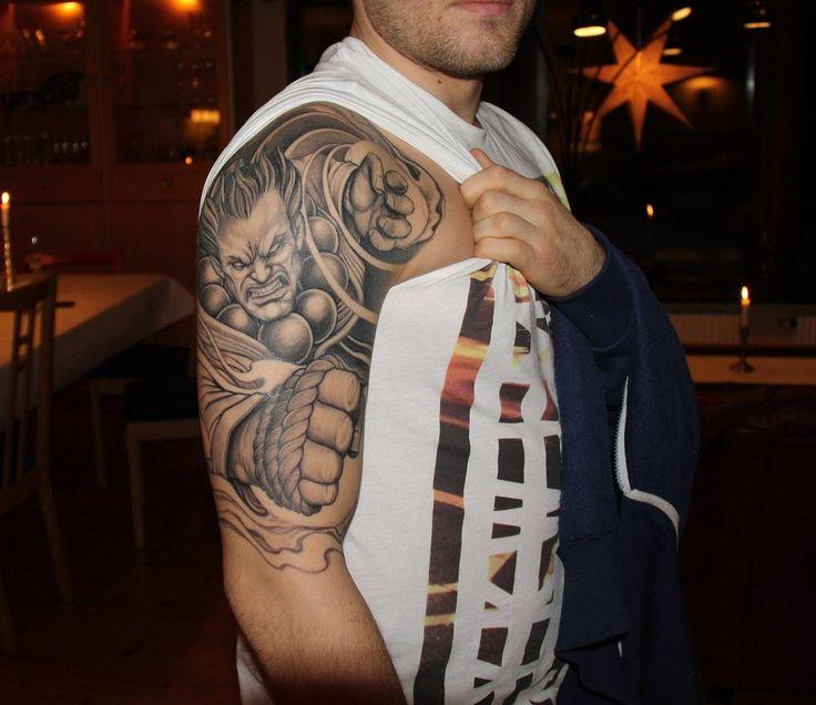 street fighter akuma tattoo imgur akuma pinterest street fighter tattoos and body art. Black Bedroom Furniture Sets. Home Design Ideas