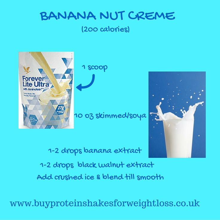 Here's a nutty one! Try Banana Nut Creme protein shake for weight loss, made with Forever Lite Ultra with Aminotein, and I think you'll be glad you did. It's simply delicious as well as nutritionally balanced. 20 more scrumptious recipes for you on a FREE VIDEO here: https://youtu.be/SmZ31L2oksI  #proteinshakesforweightloss #proteinshakesrecipes