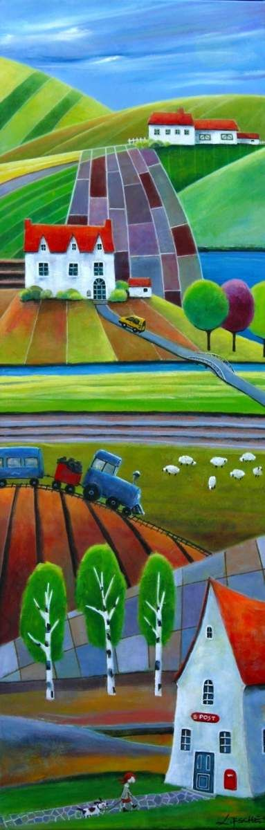 "Iwona Lifsches  -  ""Ulla goes to The Post Office"""