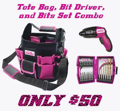 Pink Tool Box and Tools....  I think so!