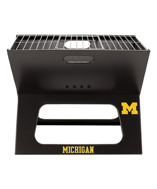 Michigan Wolverines X-Grill Portable Charcoal Grill