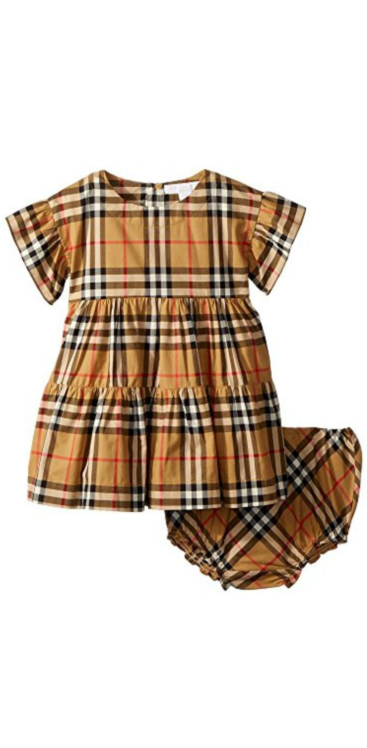 77a4a735d8d7 Give your girl a charmed life in the loved luxury of the  Burberry  Kids  Alima  Dress.  girls  child  children  childrenswear  apparel  clothing   dresses
