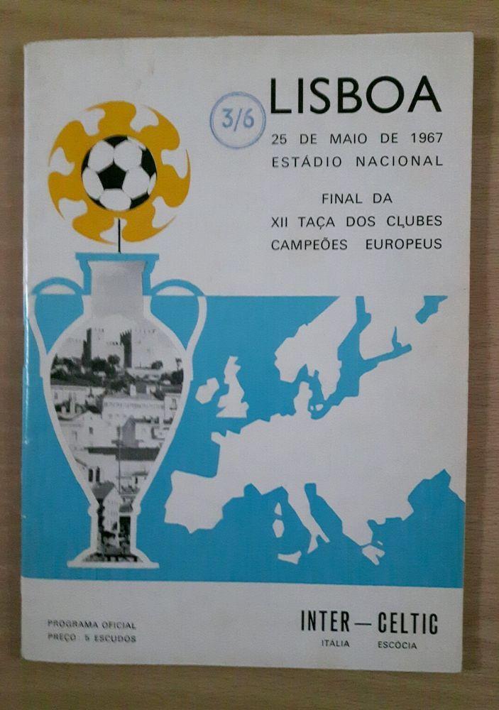 Celtic v Inter Milan European Cup Final Programme 1967 - LISBON LIONS in Sports Memorabilia, Football Programmes, European Club Fixtures   eBay!