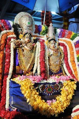 No Material Asset can Please Krishna: Subudhendra Tirtha Swamiji