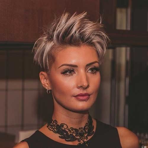 Stylish Pixie Haircuts Every Women Should See. We collect really attractive modern blonde pixie cuts, layered long bangs pixies, thick hair styles