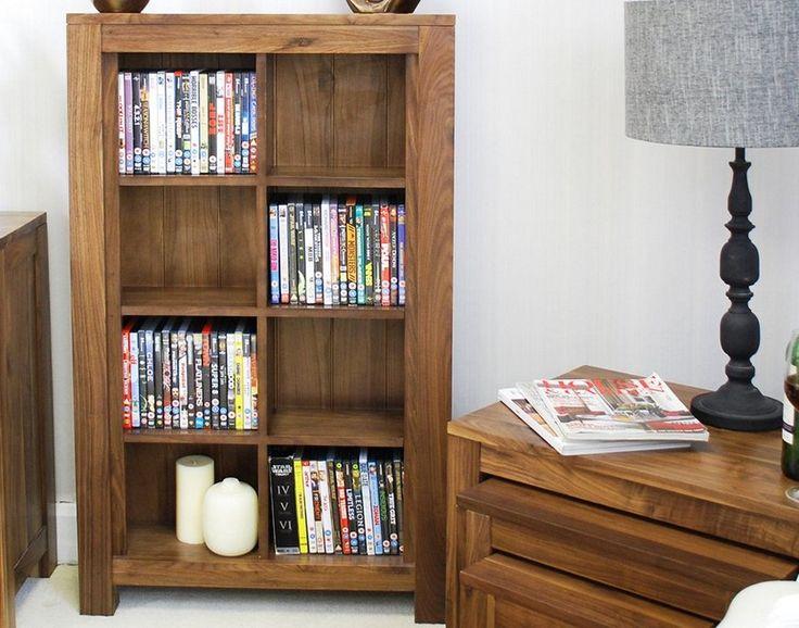 Oak DVD Storage Cabinet