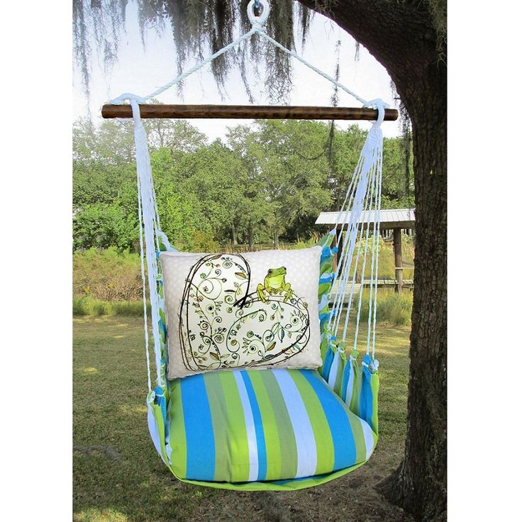 Frog And Heart Hammock Chair, Swing, Magnolia Casual