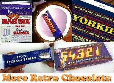 Old Chocolate Bars Bar Six Cabana Yorkie Fry S