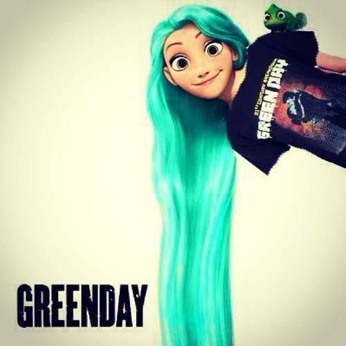 Rapunzel Green Day